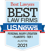 Best Lawyers | Best Law Firms U.S. News | Personal Injury Litigation Plaintiffs - Tier 1 Austin | 2021